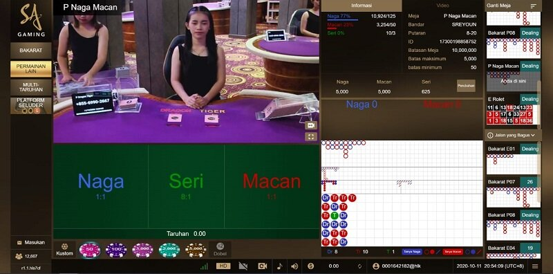 Serupa Tapi Tak Sama: Dragon Tiger vs Baccarat Happyluke