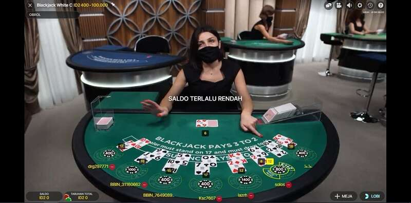 Blackjack Kasino Fun88